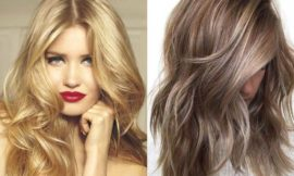 Русый цвет волос: оттенки, фото, краска, как покраситься