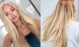 Цвет блонд натуральный фото, краска, кому подходит