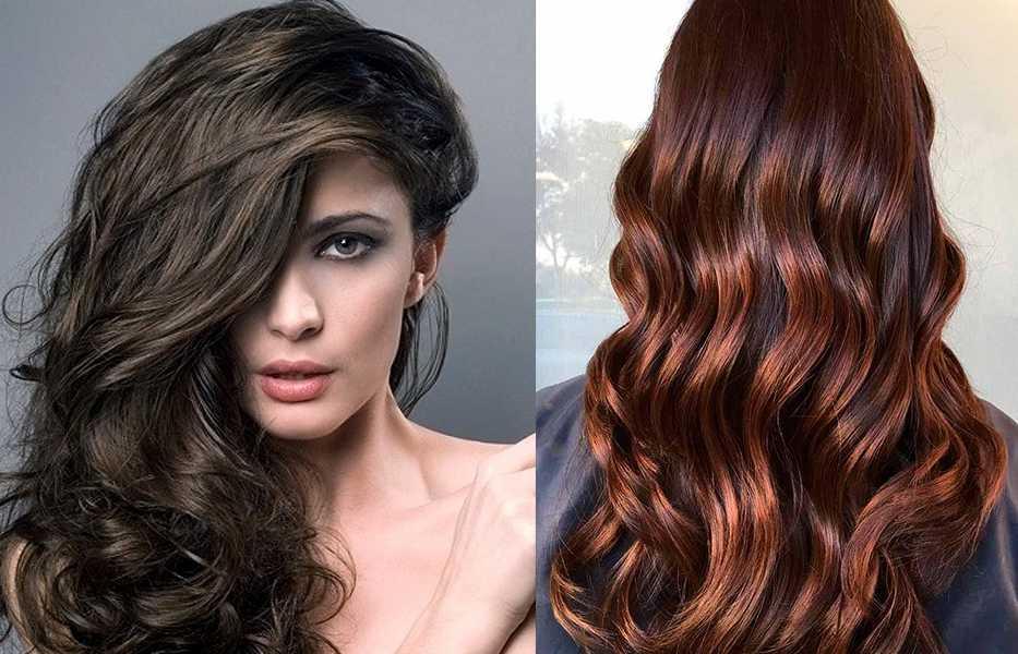 Шоколадный цвет волос: фото, краска, кому подходит