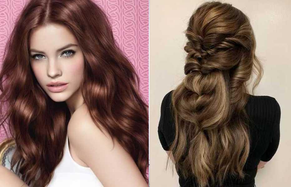 Каштановый цвет волос: оттенки, фото, краска, как покраситься