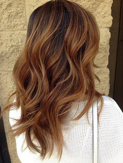 15 medium meets dark1 - Каштановый цвет волос: оттенки, фото, краска, как покраситься