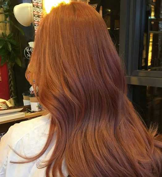 17jgg 1 - Золотисто медный цвет волос, оттенки, фото, краска
