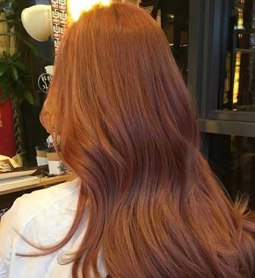 17jgg - Золотисто медный цвет волос, оттенки, фото, краска
