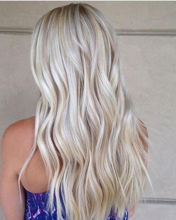 2 1 - Цвет жемчужный блондин: оттенки, фото, краска, как покраситься