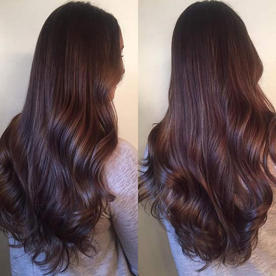 20. Chocolate Fondue - Шоколадный цвет волос: фото, краска, кому подходит