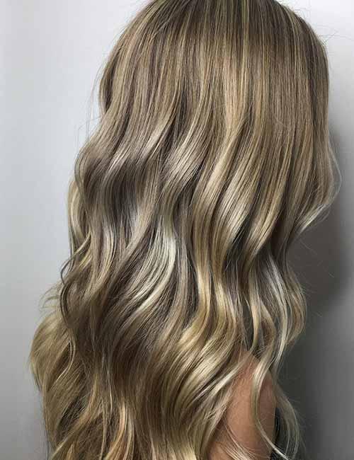 25. High Gloss Ash Blonde - Коричнево пепельный блондин