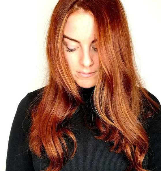 25jg - Золотисто медный цвет волос, оттенки, фото, краска