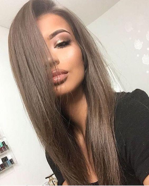 2807 3 1 - Каштановый цвет волос: оттенки, фото, краска, как покраситься