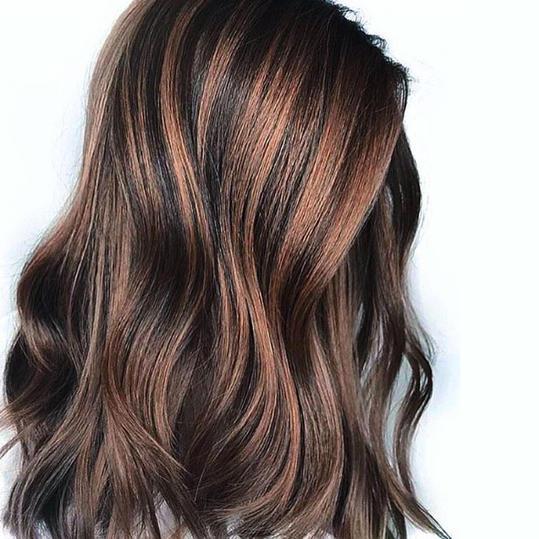 3 2 - Шоколадный цвет волос: фото, краска, кому подходит