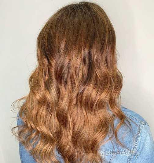 33 jpg - Золотисто медный цвет волос, оттенки, фото, краска