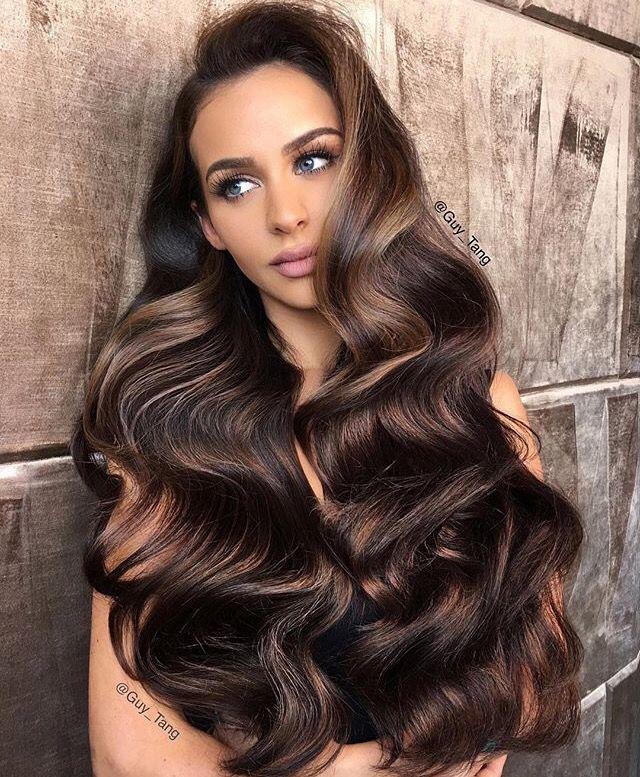 3fdb48f8de5a69ea50004b28d64b22b5 guytang brunettes - Коричневый цвет волос: оттенки, фото, краска, видео
