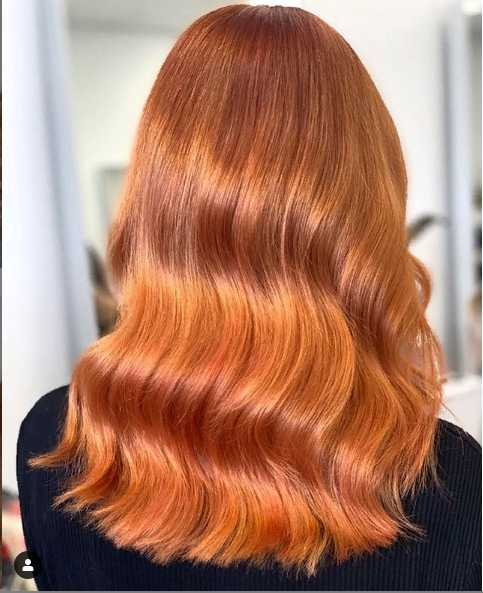 3jpg 1 - Золотисто медный цвет волос, оттенки, фото, краска