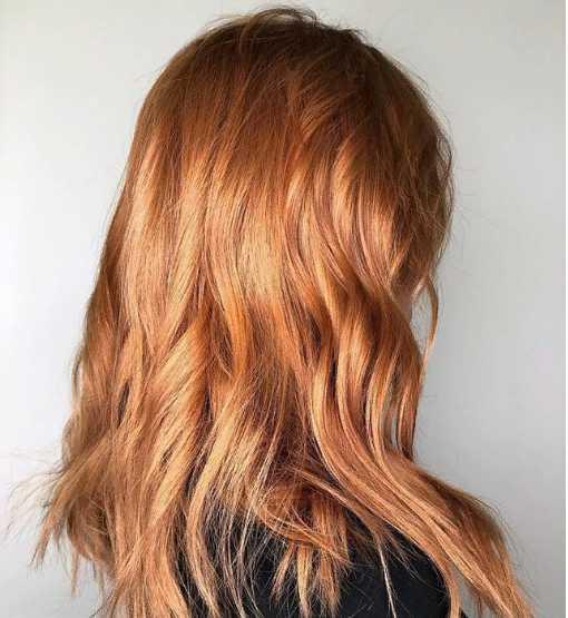 4jpg - Золотисто медный цвет волос, оттенки, фото, краска