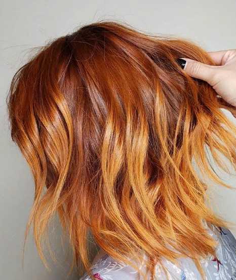 6jpg - Золотисто медный цвет волос, оттенки, фото, краска