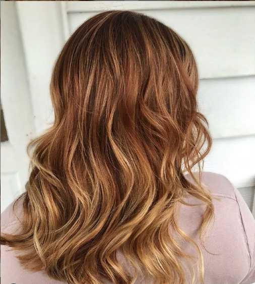 7jpg - Золотисто медный цвет волос, оттенки, фото, краска