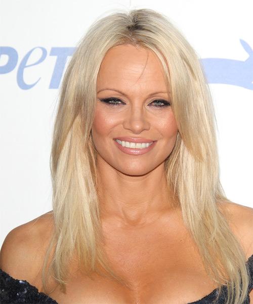 Pamela Anderson - Цвет жемчужный блондин: оттенки, фото, краска, как покраситься