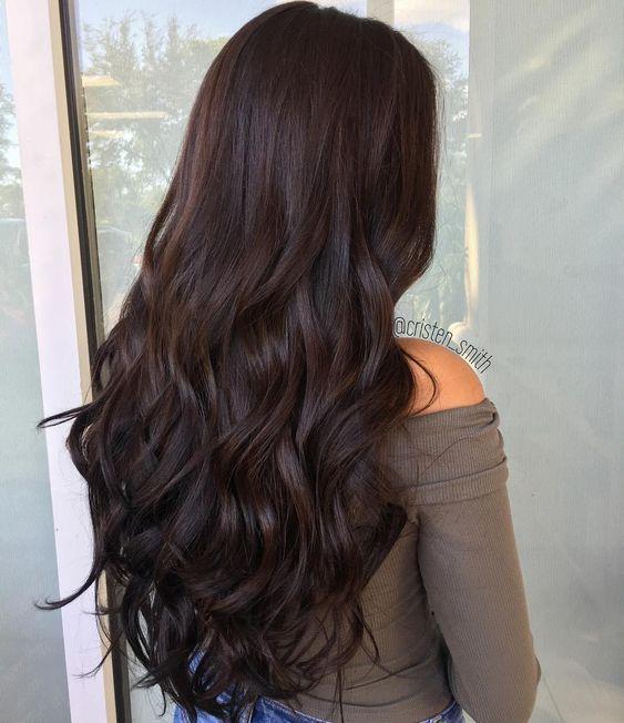 Rich Chocolate Brown Hair Color - Шоколадный цвет волос: фото, краска, кому подходит