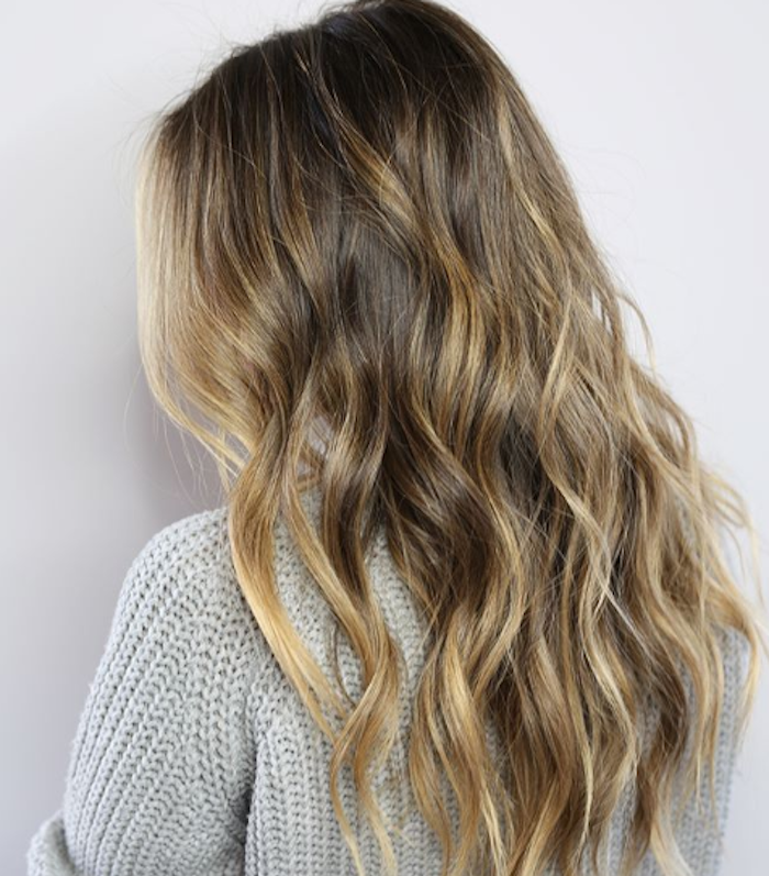 balayage blonde hair 261286 1529699833358 main.700x0c - Цвет блонд натуральный фото, краска, кому подходит