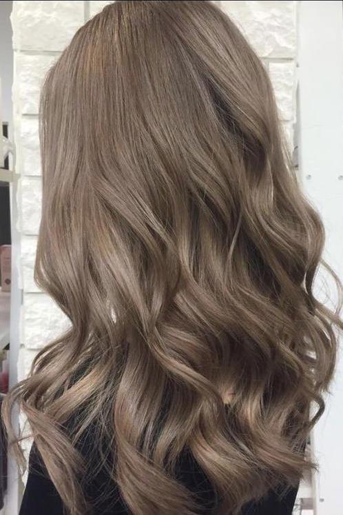 blended ash bronde 1 - Русый цвет волос: оттенки, фото, краска, как покраситься