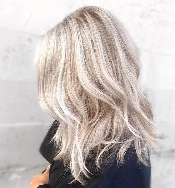 blonde hair - Цвет жемчужный блондин: оттенки, фото, краска, как покраситься