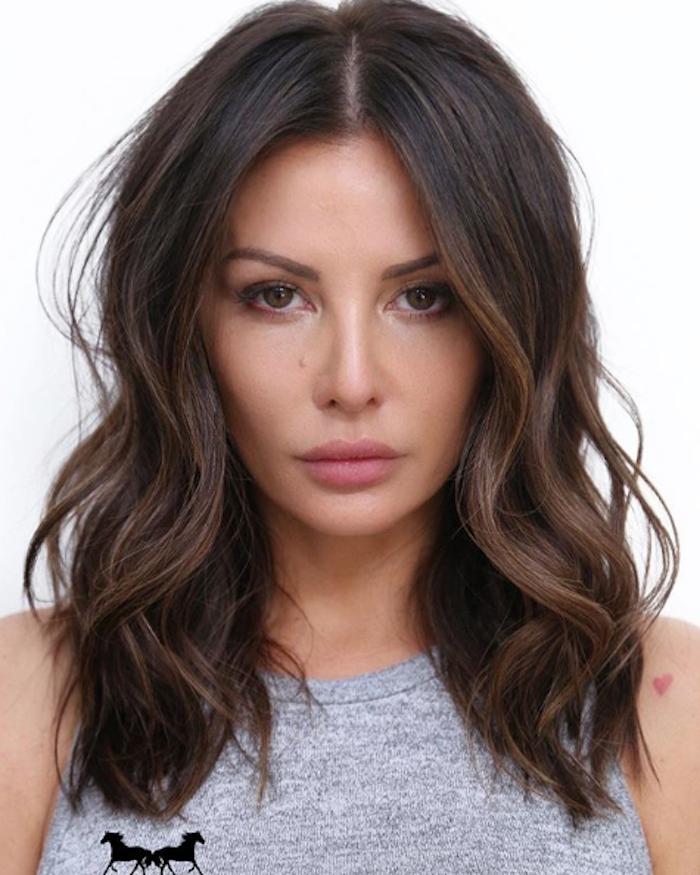 dark brown hair with highlights 260342 1528917540351 main.700x0c - Цвет волос шатен краска, фото, кому подходит