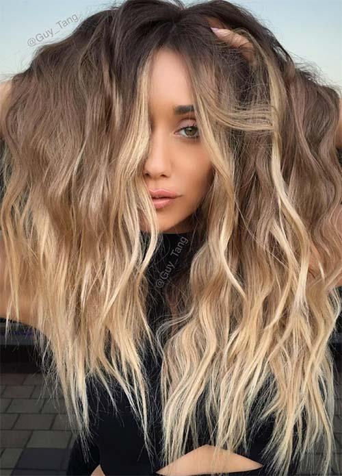 dark hair colors deep blonde hair colors2 - Цвет темный блонд: оттенки, волосы, краска, фото
