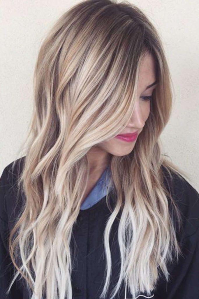 ed349017e287c000fef6dfa199b909c3 683x1024 - Цвет жемчужный блондин: оттенки, фото, краска, как покраситься