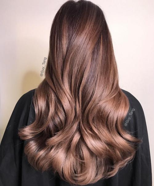 ef2ceabab1541545d6c63bcad9c7489e 2 - Цвет волос шатен краска, фото, кому подходит
