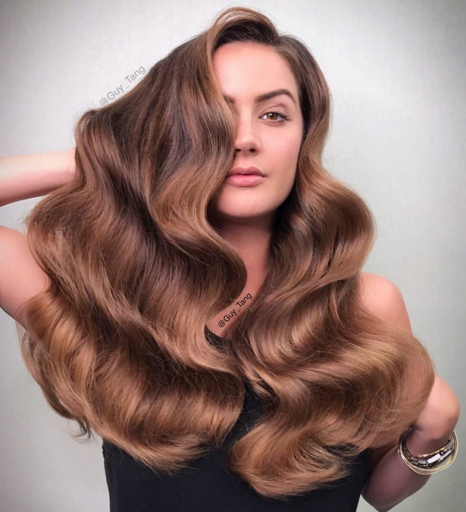 g 931x1024 - Коричневый цвет волос: оттенки, фото, краска, видео