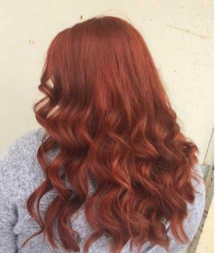 genna jpg - Золотисто медный цвет волос, оттенки, фото, краска
