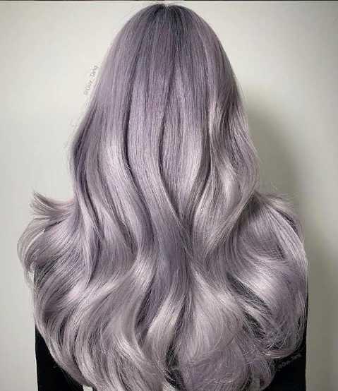 ggjpg - Светлый блондин пепельно фиолетовый