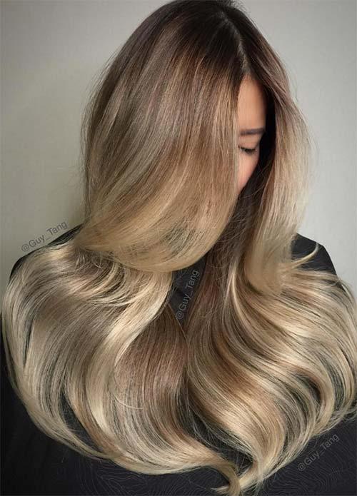 guy - Цвет темный блонд: оттенки, волосы, краска, фото