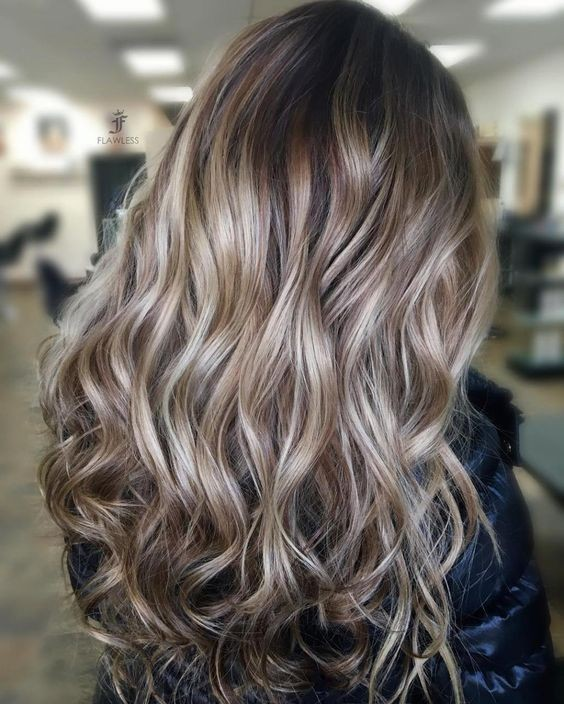 hair coloring inspirational using cool blonde highlights on light brown hair beautiful 558 best blonde 2 - Русый цвет волос: оттенки, фото, краска, как покраситься