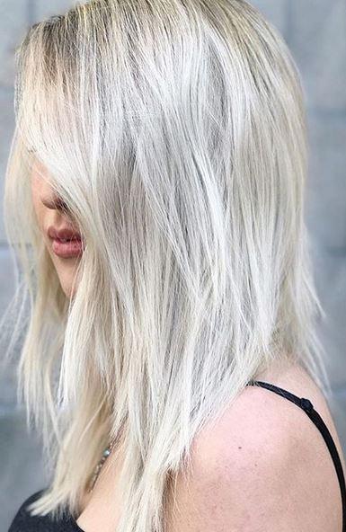 ice blonde - Цвет жемчужный блондин: оттенки, фото, краска, как покраситься