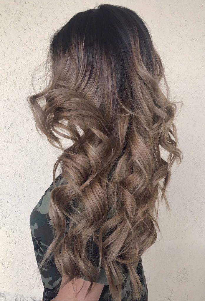 ice moccha 1 696x1024 - Русый цвет волос: оттенки, фото, краска, как покраситься