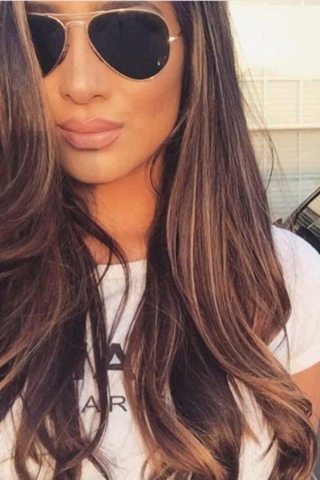 large fustany beauty hair brown hair color 12 - Коричневый цвет волос: оттенки, фото, краска, видео
