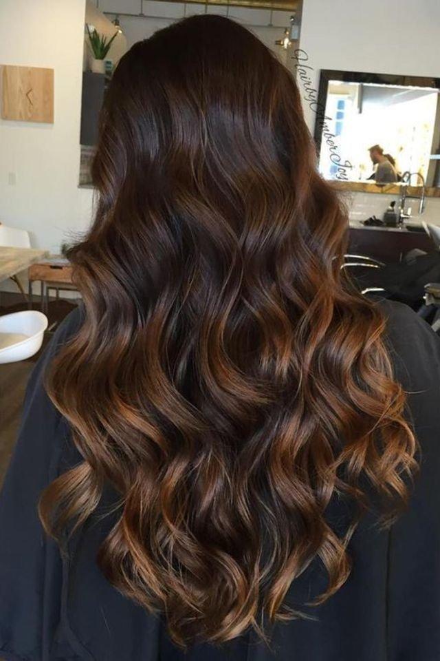 large fustany beauty hair brown hair color 18 - Коричневый цвет волос: оттенки, фото, краска, видео