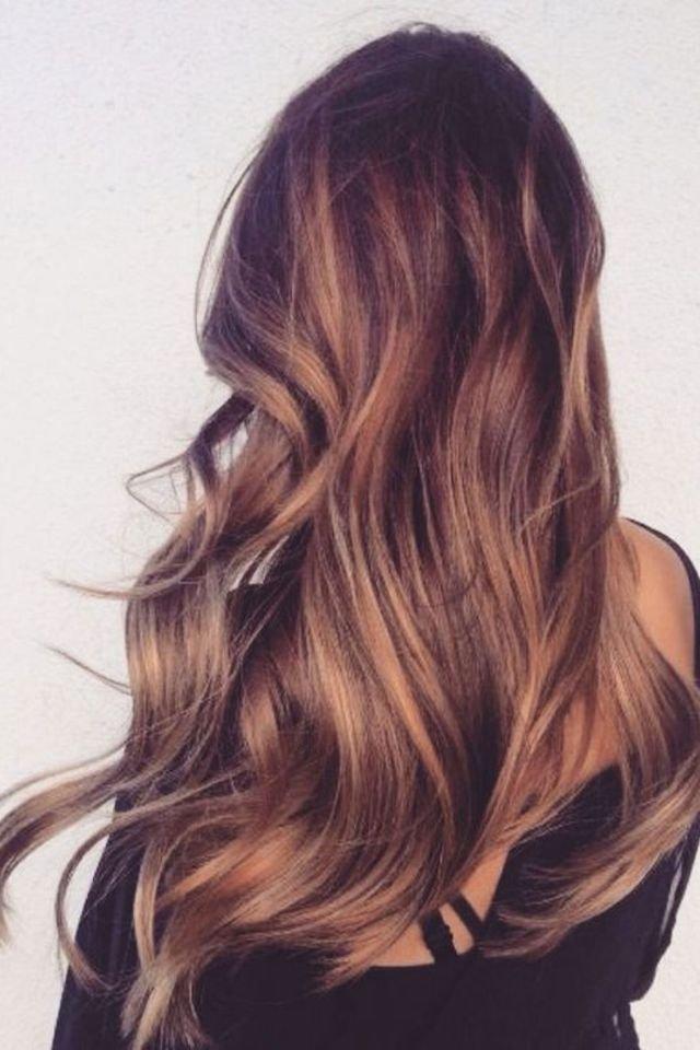 large fustany beauty hair brown hair color 24 4 - Коричневый цвет волос: оттенки, фото, краска, видео
