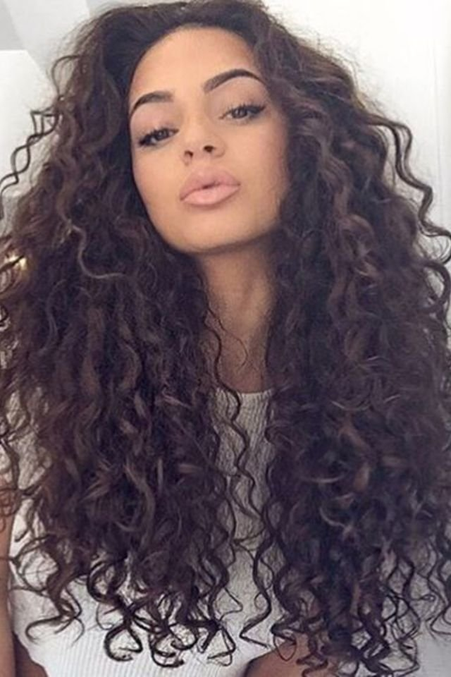 large fustany beauty hair brown hair color 28 1 - Коричневый цвет волос: оттенки, фото, краска, видео