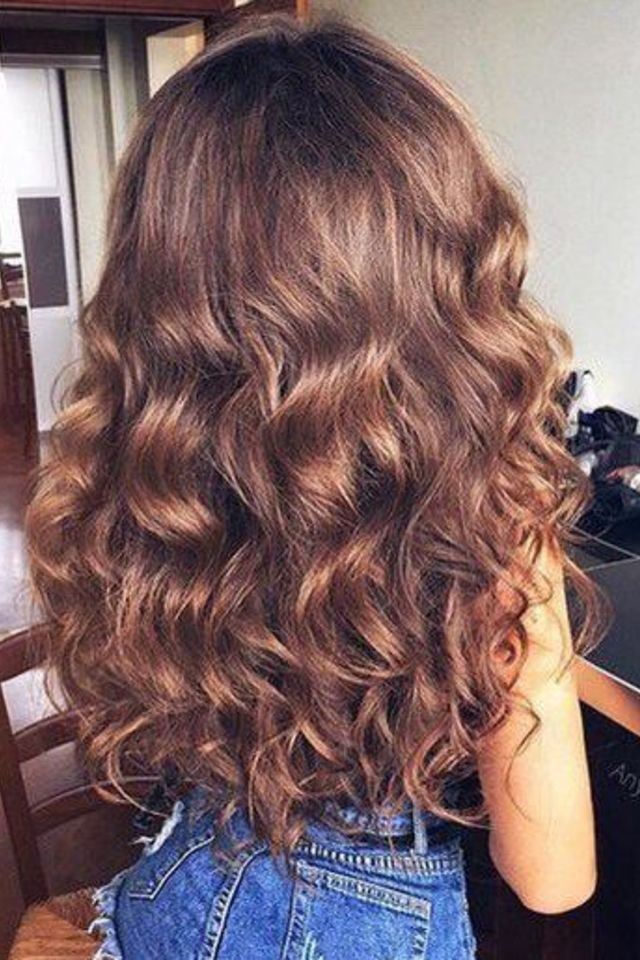 large fustany beauty hair brown hair color 30 - Коричневый цвет волос: оттенки, фото, краска, видео