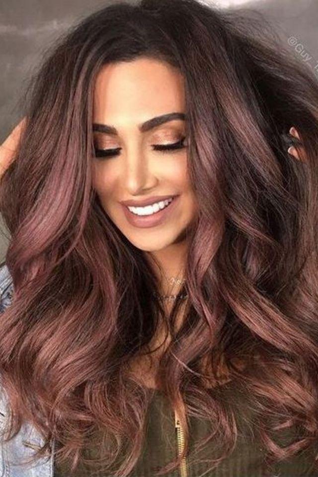 large fustany beauty hair brown hair color 31 3 - Коричневый цвет волос: оттенки, фото, краска, видео