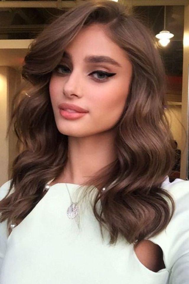 large fustany beauty hair brown hair color 8 - Коричневый цвет волос: оттенки, фото, краска, видео