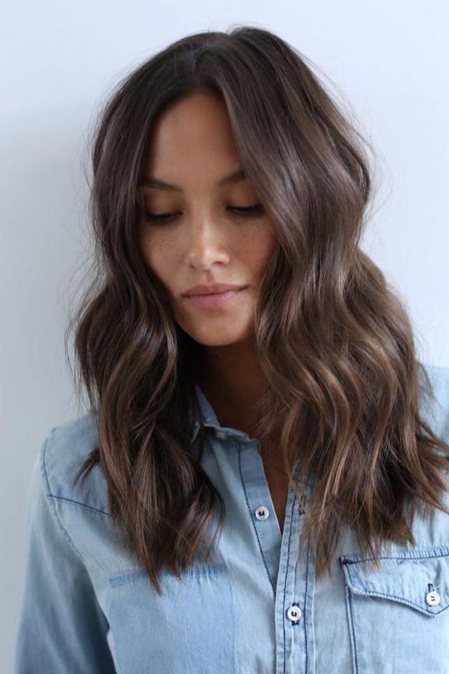 large fustany beauty hair brown hair color 9 1 - Коричневый цвет волос: оттенки, фото, краска, видео