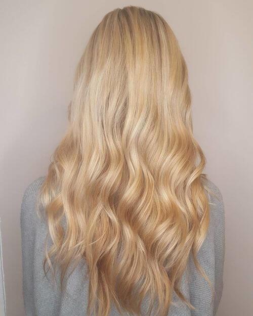 long blonde hair 2 1 - Цвет блонд натуральный фото, краска, кому подходит