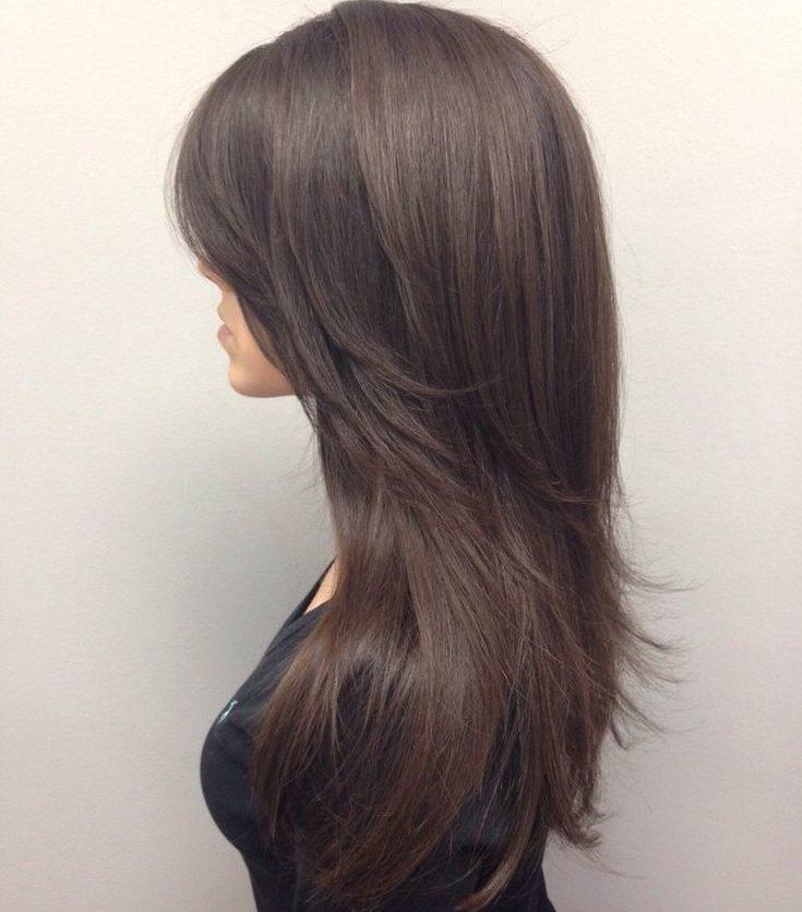 long haircut with layers 1 e1553589825304 - Русый цвет волос: оттенки, фото, краска, как покраситься