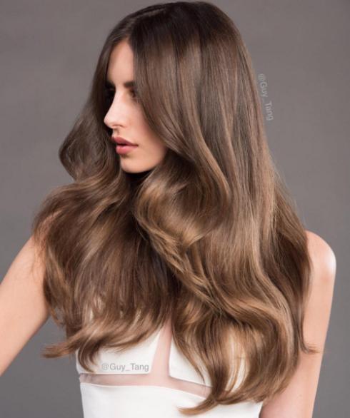 milk chocolate hair - Шоколадный цвет волос: фото, краска, кому подходит