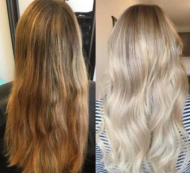 olaplex before after photos - Как покрасить волосы в домашних условиях