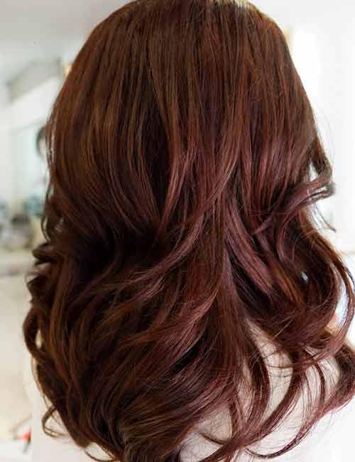 red brown 2 - Цвет волос шатен краска, фото, кому подходит