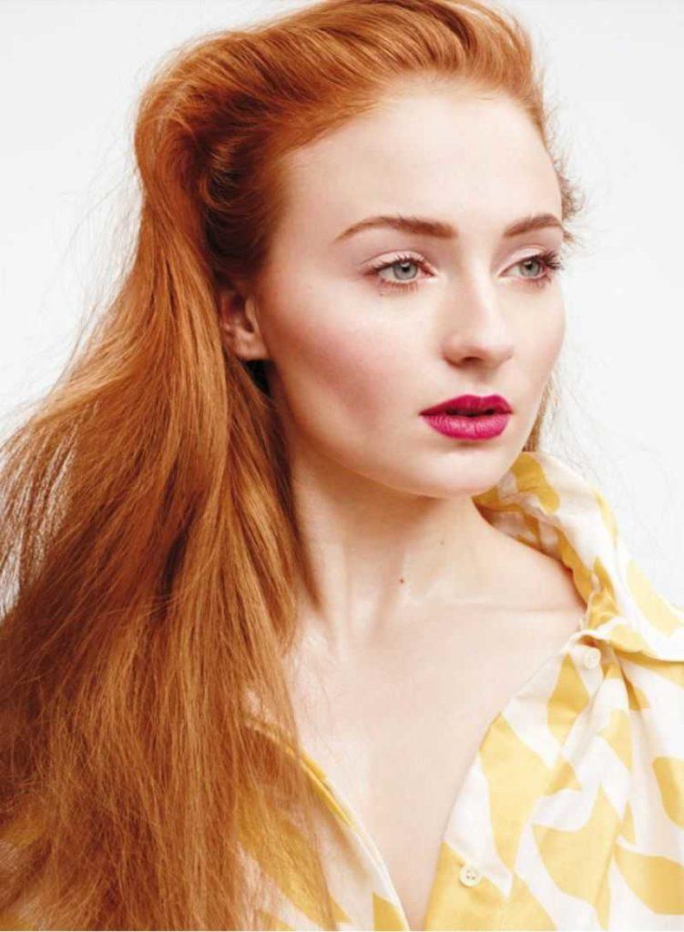 star7 1 751x1024 - Золотисто медный цвет волос, оттенки, фото, краска