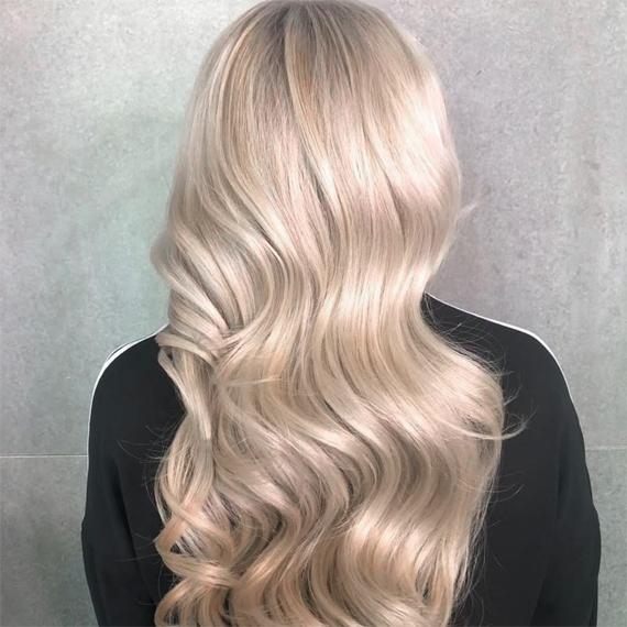 wella professionalsplatinum blonde hair colour 1 - Цвет блонд натуральный фото, краска, кому подходит